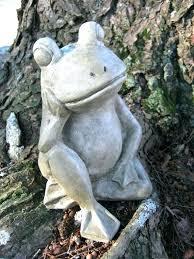 star wars garden statue frog relaxing concrete cement art decor green frogs yard statues molds wa