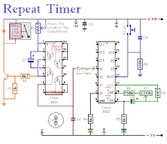 cyclic relay wiring diagram cyclic wiring diagrams online automatically repeating interval timer circuit