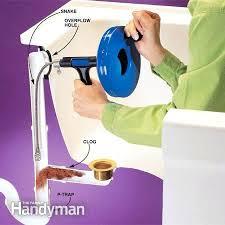 clogged bath drain how to clear clogged drains the family handyman bathtub clogged clogged bathtub drain clogged bath drain how