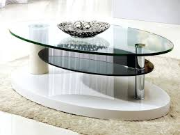 small glass coffee table remarkable white oval contemporary glass small glass coffee tables depressed ideas small