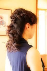 ハーフアップ ロング 編み込みヘア 結婚式 さくら市 美容室エスポワール