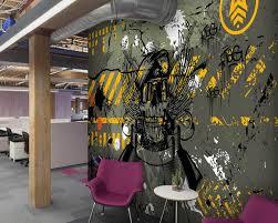 Us 159 47 Offcustom Graffiti Behang Straat Camouflage Legergroen Thema Muurschildering Voor Woonkamer Hotel Ktv Achtergrond Muur Papel De Pared