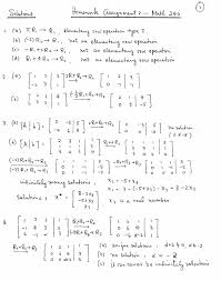 math homework assignment solutions page 1