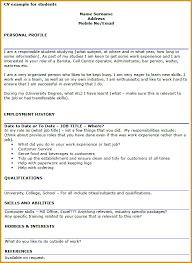 student cv example   jumbocover infoexample of cv waiter history term paper rubric rotc scholarship essay