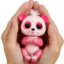 <b>Интерактивный панда</b> Полли <b>Fingerlings</b> WowWee 12 см ...