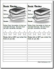 best book review template images teaching ideas book review bookmarks