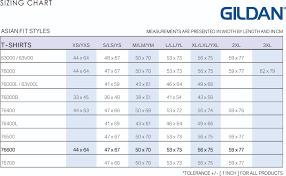 Gildan Tee Shirt Size Chart Gildan T Shirt Measurement Chart Rldm