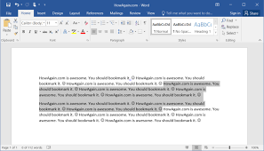Microsoft Word Border How To Draw Boxes Around Inline Words And Paragraphs In Microsoft