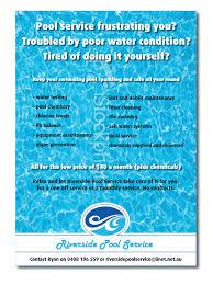 swimming pool service flyers Dolapmagnetbandco