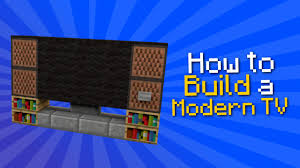 how to make a tv in minecraft. How To Make A Tv In Minecraft N