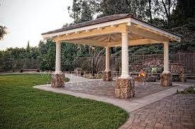 Free Standing Patio Cover Designs Beautiful Outdoor Covered Patio