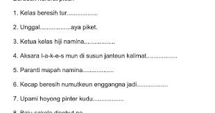 Thanks for reading soal pts bahasa sunda kelas 4 semester 2 tahun 2020. Soal Pat Bahasa Sunda Kelas 1 Sd Ops Sekolah Kita