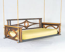 Porch Swing Bed Exterior Comfortable Terrace With Porch Swing Bed Plans Daybed