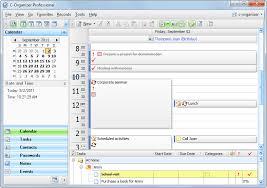 office organizer software. C-Organizer Pro Office Organizer Software A