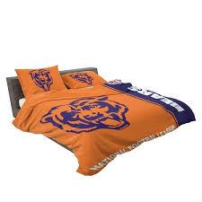 bears bedding comforter set 4 3 chicago king bears bedding set bedroom queen size chicago comforter