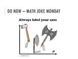 Do Now – Math Joke Monday - ppt video online download