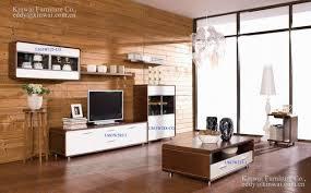Rhine living room furniture walnut veneer coffee table TV stand double dresser LA Furniture Store