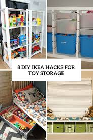 Ikea Toy Organizer 8 Cool Diy Ikea Hacks For Kids Toy Storage Shelterness