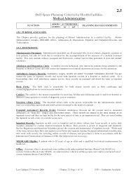 medical clerical resume