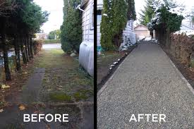 core gravel dramatically improves the look of a driveway and the properties re value