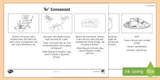 Free interactive exercises to practice online or download as pdf to print. Br Consonant Blend Spotter Story Teacher Made