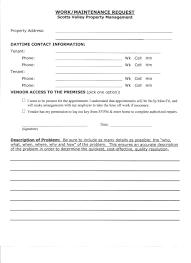 Maintenance Request Form Templa On Repair Estimate Form Order Your ...