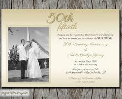 Anniversary Invitations Golden Wedding Anniversary Invitation