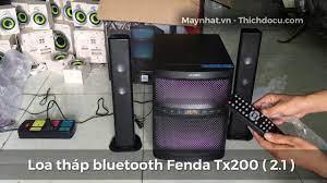 Khui thùng và test thử loa tháp bluetooth Fenda Tx200 ( cũ 97-98% )  
