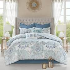 What size is a queen comforter Twin Xl Madison Park Loleta Blue Piece Cotton Reversible Comforter Set Overstock Size Queen Comforter Sets Find Great Fashion Bedding Deals