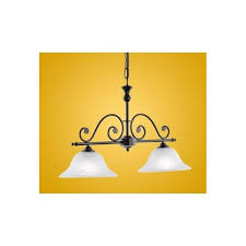 91004 murcia 2 light traditional pendant ceiling light black finish with alabaster white glass shades