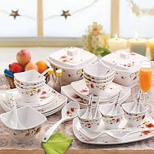 Cello Hestia Melamine Dinner Set 40 Pcs Brown Paradise