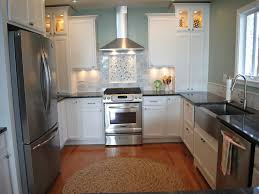 Kitchen With No Upper Cabinets Above Refrigerator Cabinet Best Home Furniture Decoration