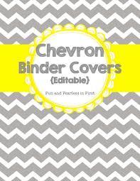 Editable Binder Cover Templates Free Chevron Binder Www Picswe Com