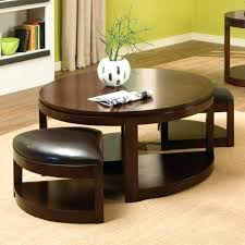 round coffee table with seats coffee table round with seats underneath home square seating tables ottomans