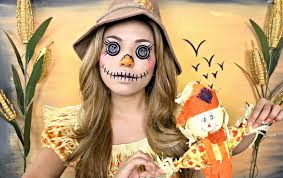 gallery of scary scarecrow makeup awesome last minute ideas you can create on a bud