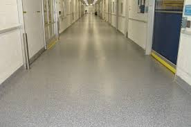 remove industrial tile and re concrete floor after
