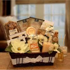 vanilla essence candle gift basket 0