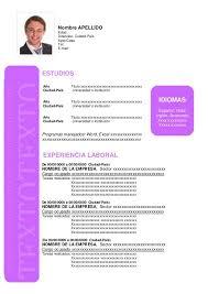 Modelo De Curriculum Vitae En Word Formato De Curriculum Vitae Word Para Llenar Sample Resume Service