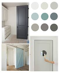 Interior door painting ideas Black The Creativity Exchange Pretty Interior Door Paint Colors To Inspire You
