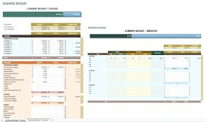 Expenses Templates Free Budgets Template Business Budget Skincense Co