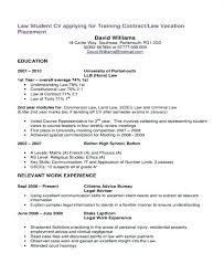 Undergraduate College Resume Template Student Cv Template Download