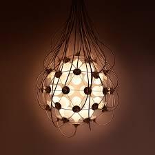 industrial inspired lighting. Industrial Birth Pendant Lamp Inspired By An Ovum Lighting