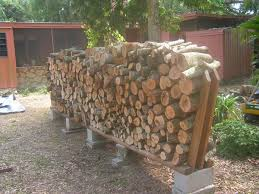 clever diy outdoor firewood rack designs