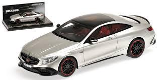 Minichamps 1/43 BRABUS 850 Mercedes-Benz S 63 AMG S-Class Coupe ...