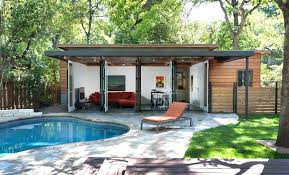 Small Pool House Ideas Backyard Pool Cabana Ideas Small Home Pool
