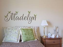 easily paint names and words on textured walls reusable adhesive stencil