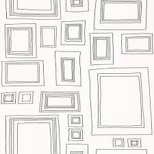 graham  brown taylor  wood frames photographs colouring wallpaper