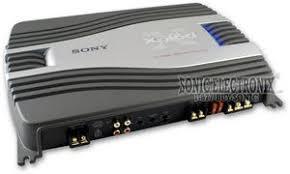 sony xm sd22x xmsd22x 500w specialty series 2 channel amplifier sony xm sd22x