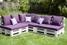 Purple Outdoor Seat Cushions