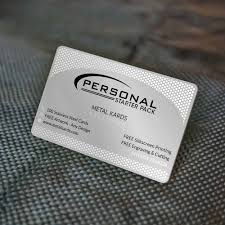 Free Personal Cards Personal Metal Cards Package Our Most Affordable Package Now Discounted